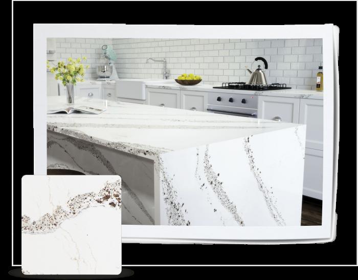 Feature Quartz Stone Countertop by Cambria - Annicca Stone Design