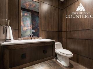 Whitehall quartz countertop by Cambria in the 2015 Dream Lottery Home