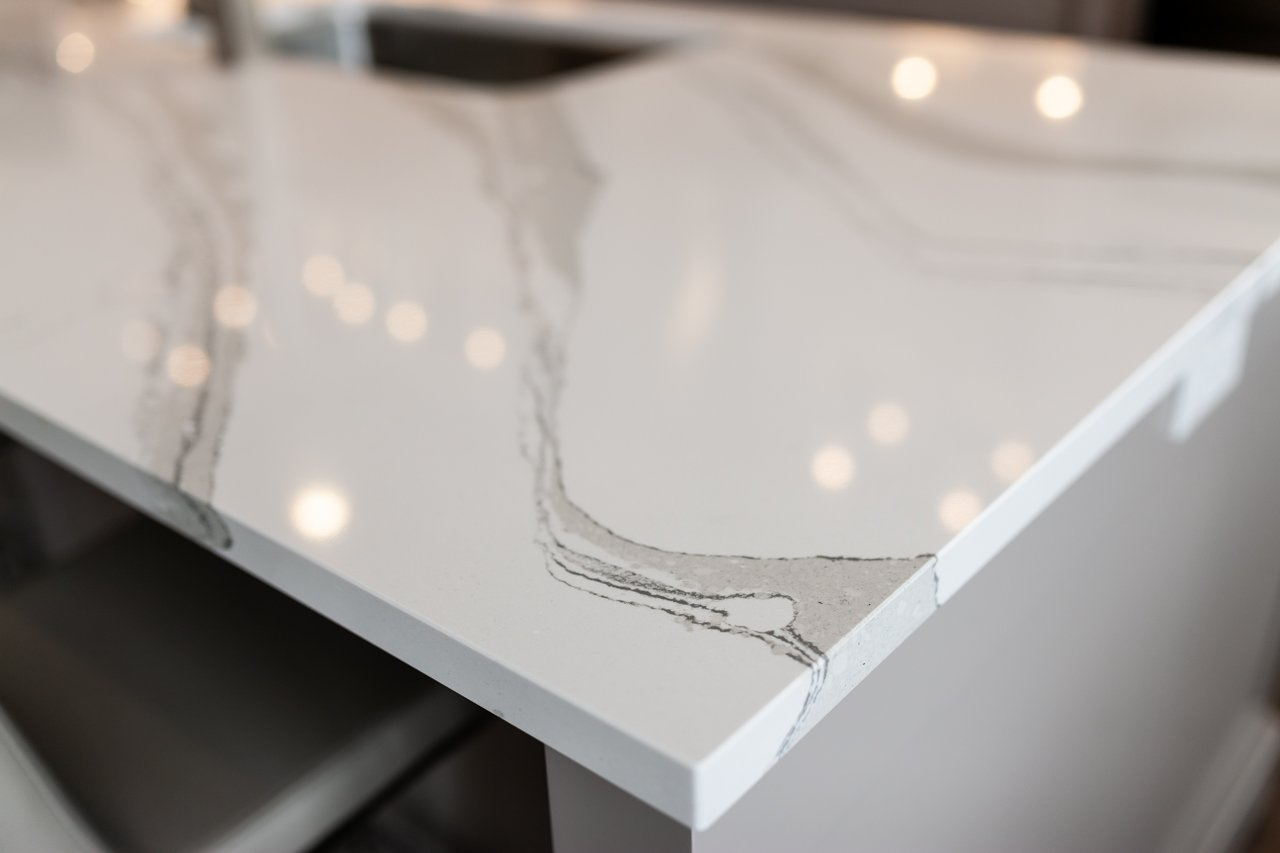cambria swanbridge white quartz countertop